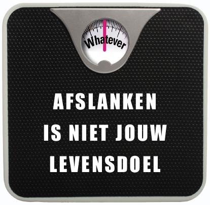 Afslanken is niet jouw levensdoel - jennyklijnsmit.nl