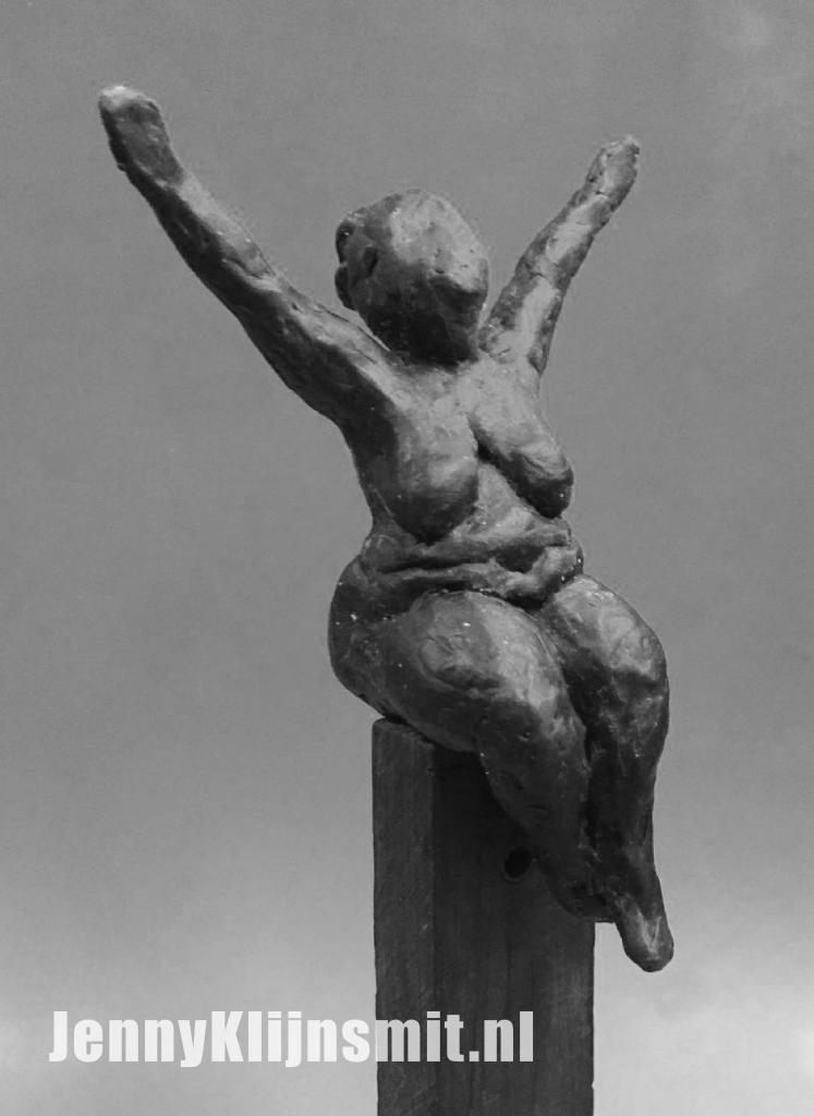 Jenny Klijnsmit beeldje gemaakt door Andrea Kindermans