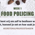 WEEK #1 Food Policing