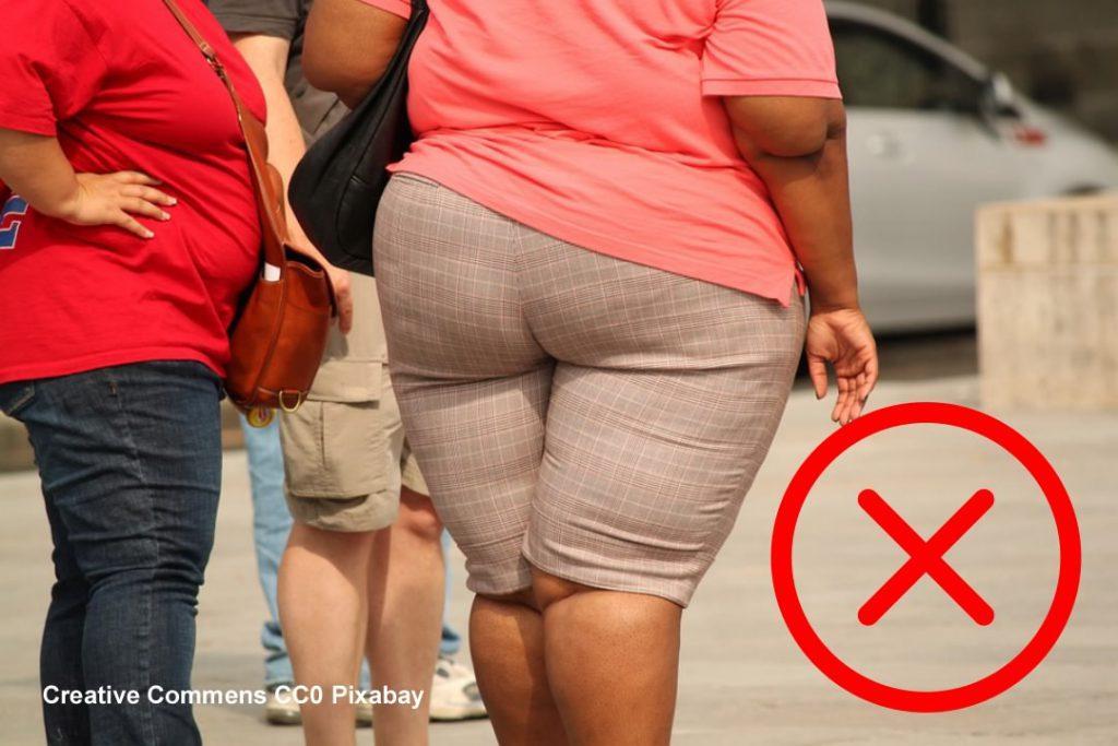 Wereld Obesitas Dag - Stigmatiserende foto van dikke mensen die geen toestemming hebben gegeven