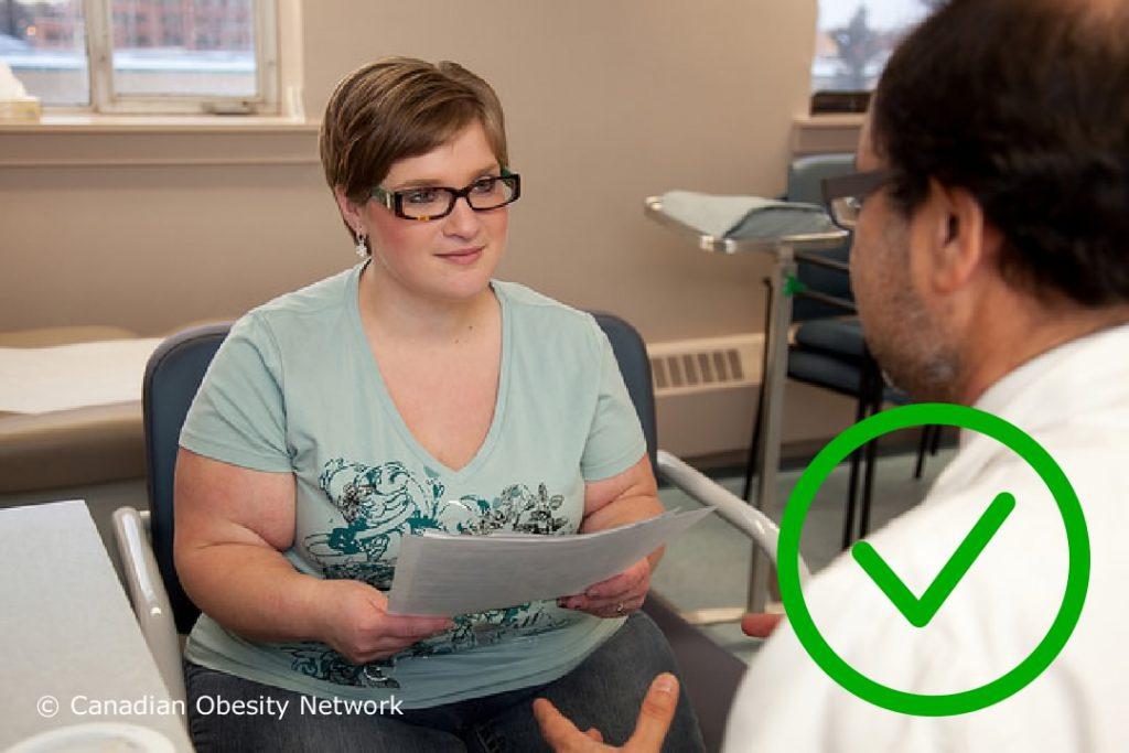 Wereld Obesitas Dag - Dikke mensen in een zorgsituatie