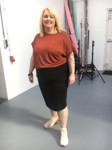 Jenny Klijnsmit in de Libelle over Fatshaming Foto Styling kleding