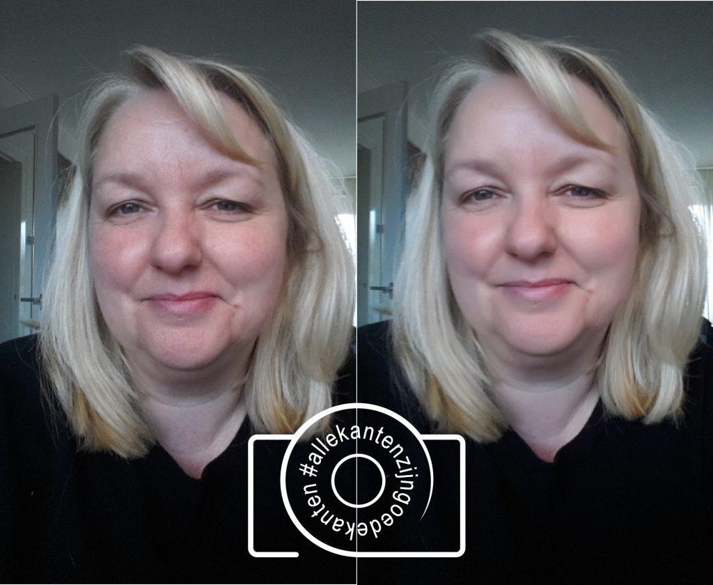 Jenny Klijnsmit gezichtscorrectie filter #allekantenzijngoedekanten