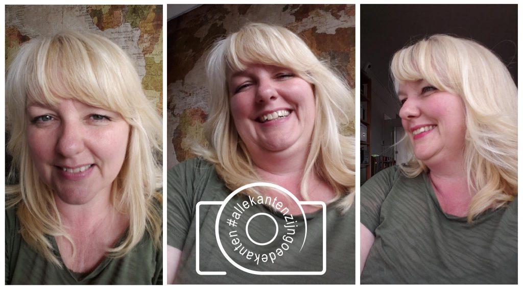 Jenny Klijnsmit onderkin selfies #allekantenzijngoedekanten